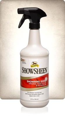B-Absorbine showsheen 950ml sprayflaske